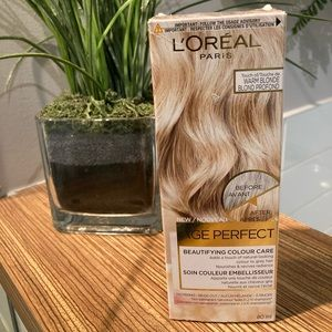 🌻4/$20 L'OREAL Age perfect WARM BLONDE
